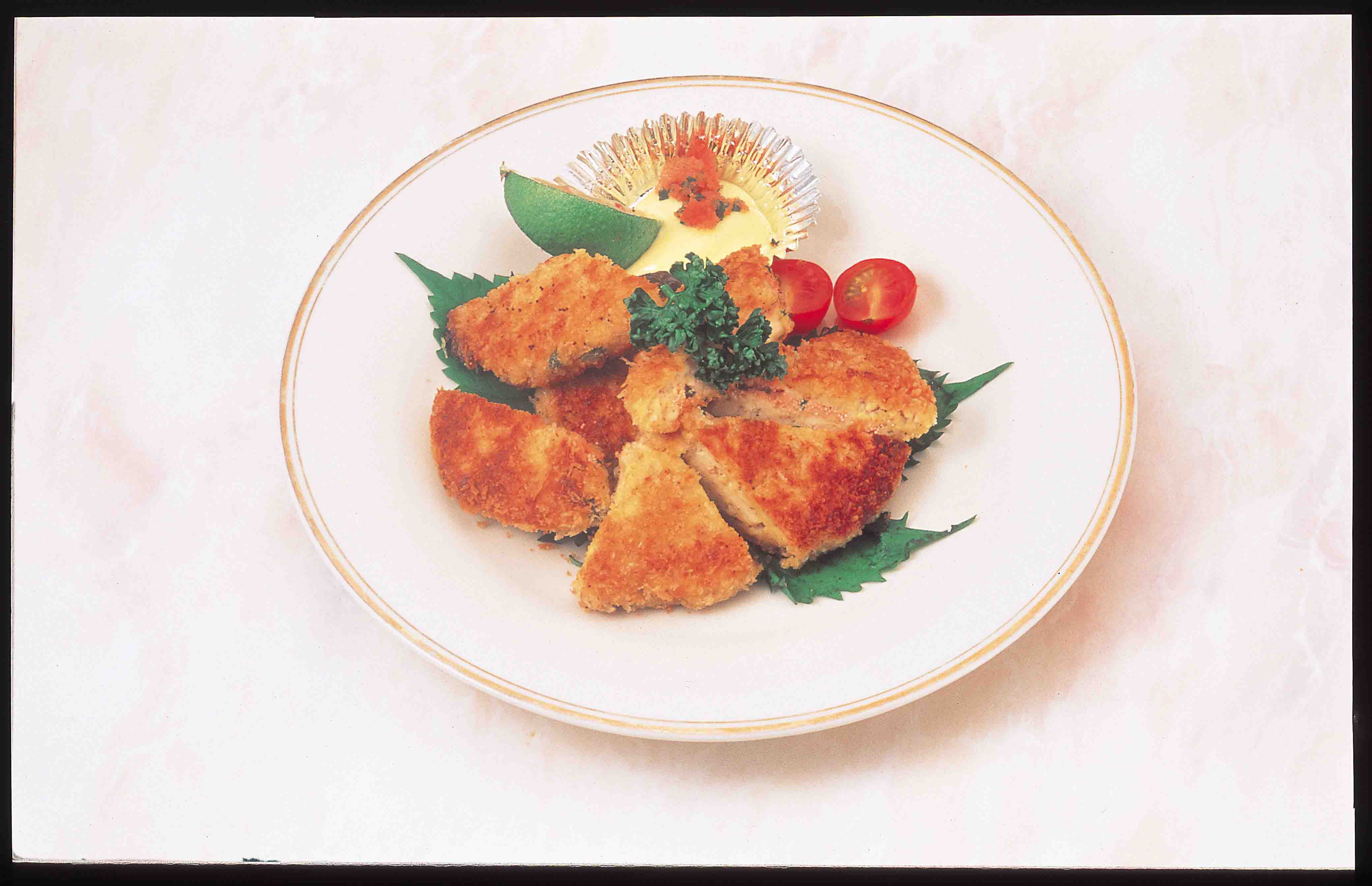 豆腐のめんたいコロッケ